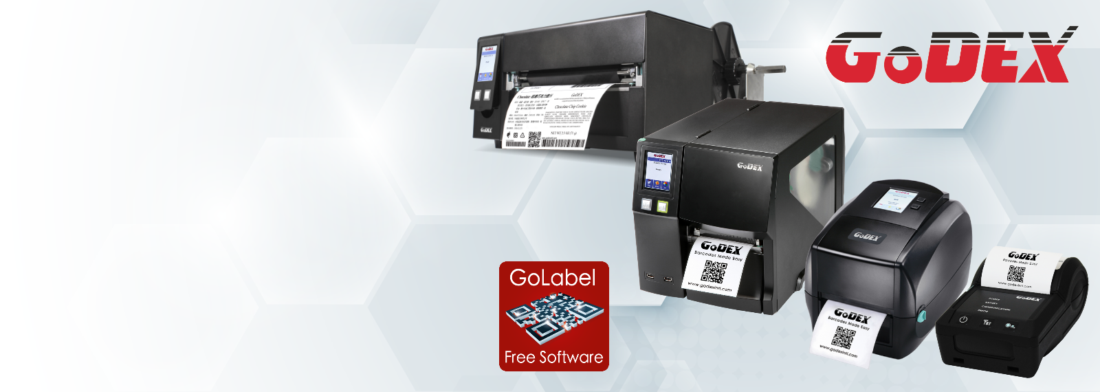 GoDEX label printers